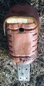 Budka z 5-l kanystru od medoviny