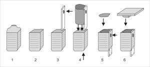 Návod na výrobu budky z 5-l nádoby od medoviny