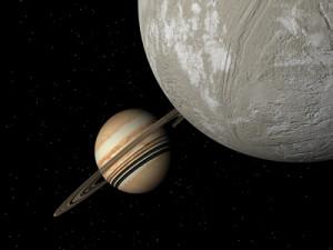 47 Uma b a její měsíc. Zdroj: Extrasolar Visions/John Whatmough